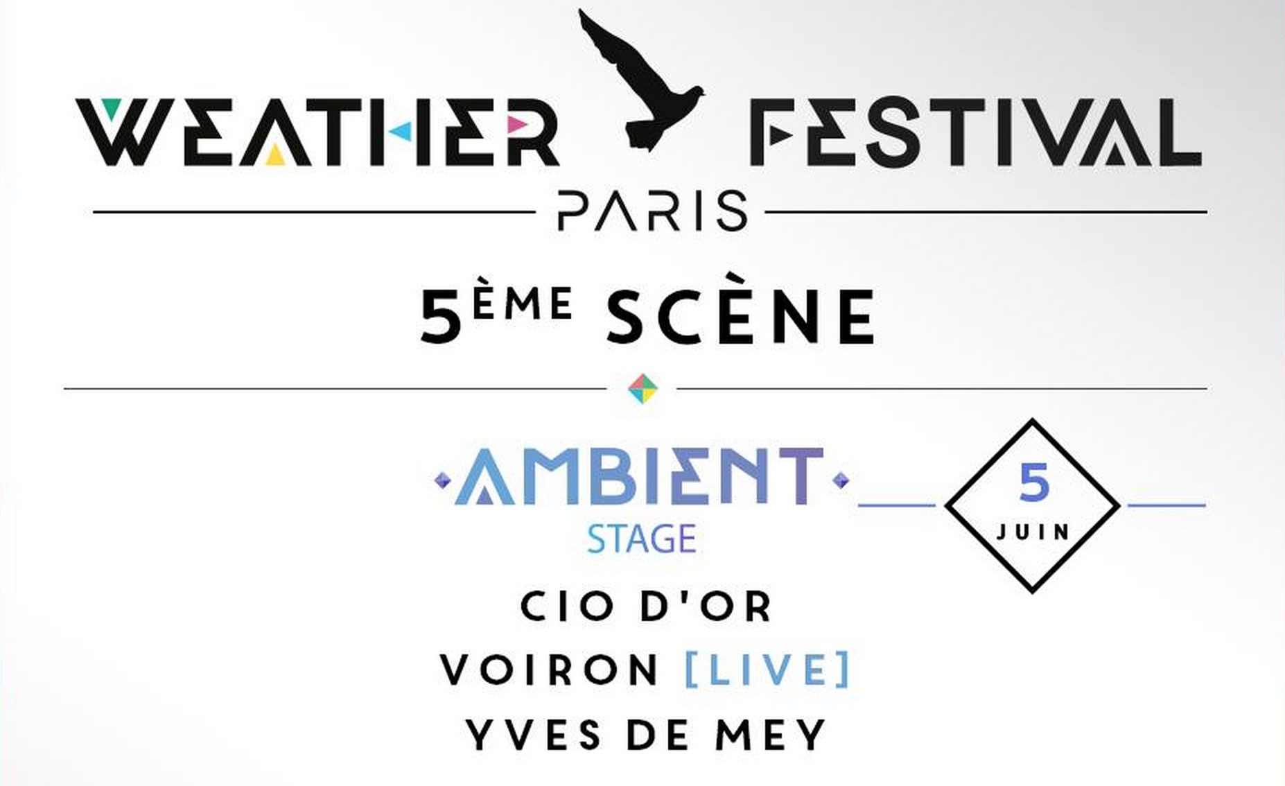 Focus Weather Festival 2015 Ambient scène