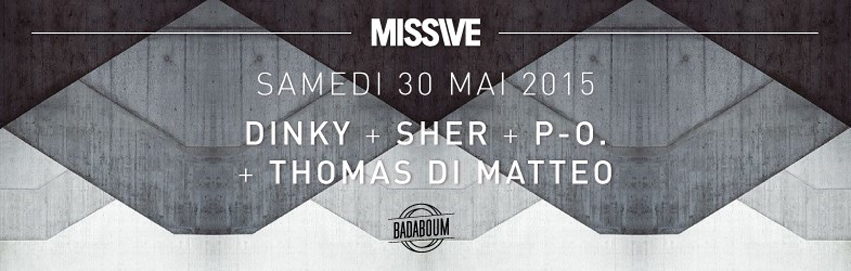 Focus Weather Festival 2015 Off MISSIVE Badaboum Dinky Thomas Di Matteo Sher P-O Dure Vie