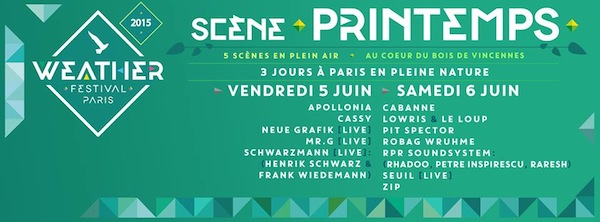 Focus Weather Festival 2015 Scène Printemps Dure Vie