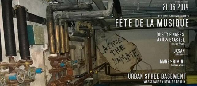 Urban Spree fdm dure vie berlin 21 juin 2014 dure vie