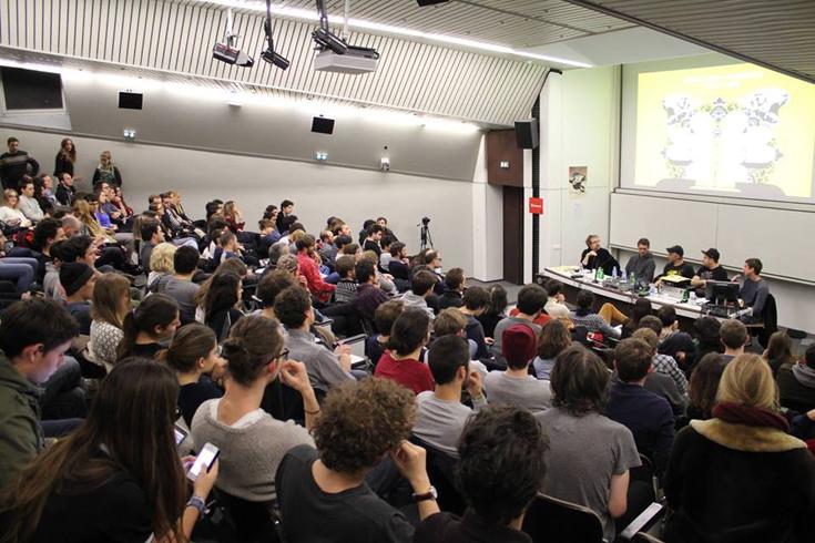 De l'ombre à la lumière la conférence sur la culture techno B2B Sciences Po Virna Diane Dure Vie 3