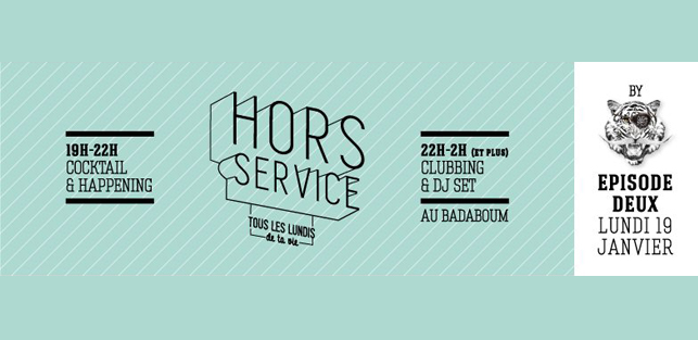 Lundis Hors Service Badaboum 19 Janvier 2014