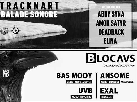Traquenard au Batofar Balade sonore Tracknart BLOCAUS invite MORD Records 2