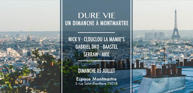 Slider Dure Vie Espace Montmarte