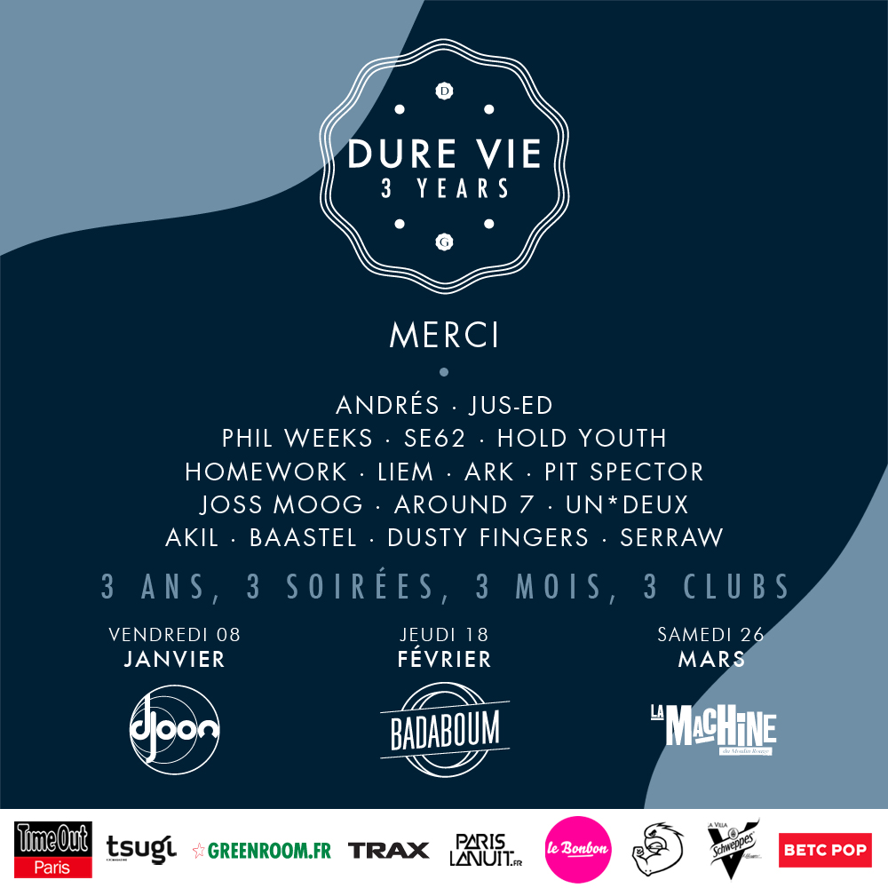 DV 3 YEARS MERCI