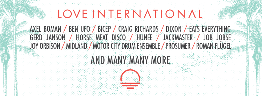 Line up x Love internationak