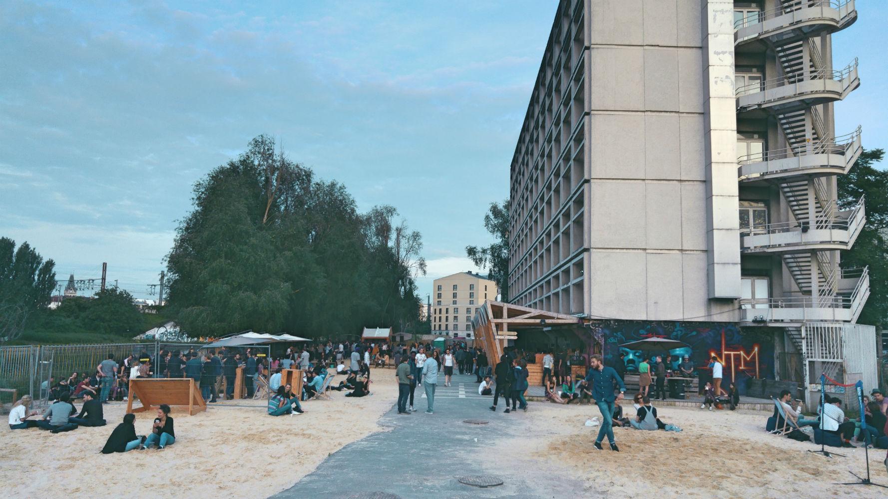La Plage du 6b où le Festival Oyé vous accueillera samedi 18 Juin